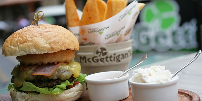 Burger from McGettigan