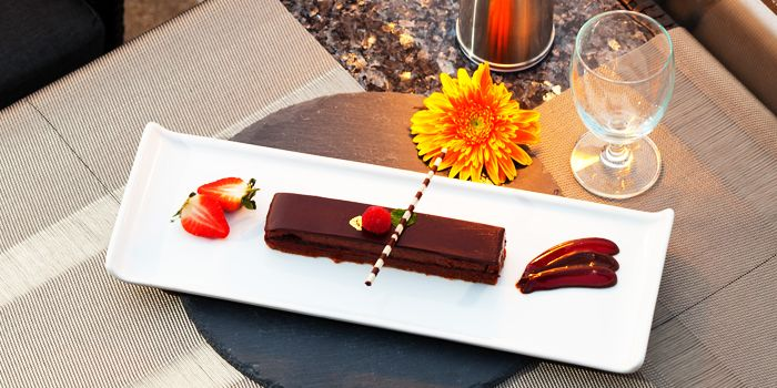 Chocolate from Vertigo at Banyan Tree Bangkok in Sathorn, Bangkok