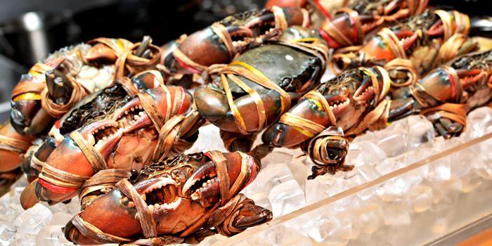 Crabs from Flavors at Renaissance Bangkok Ratchaprasong Hotel in Ploenchit, Bangkok