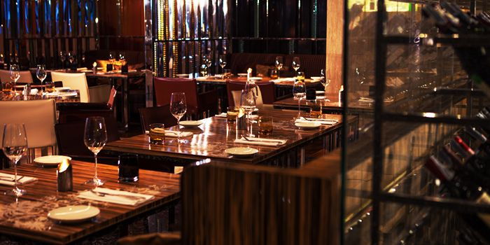 Dining Area from La Tavola & Wine Bar at Renaissance Bangkok Ratchaprasong Hotel in Ploenchit, Bangkok