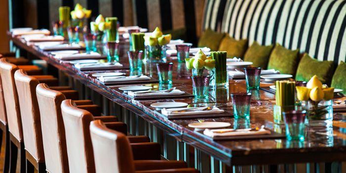 Dining Table from Flavors at Renaissance Bangkok Ratchaprasong Hotel in Ploenchit, Bangkok