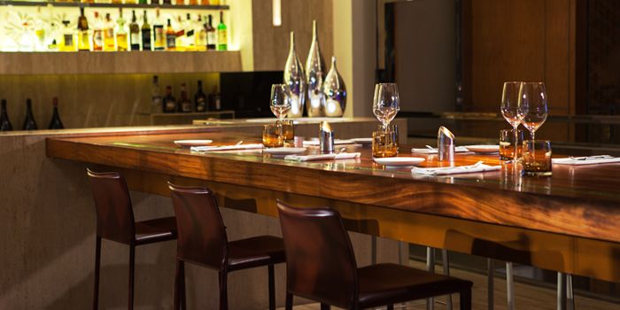 Dining Table from La Tavola & Wine Bar at Renaissance Bangkok Ratchaprasong Hotel in Ploenchit, Bangkok