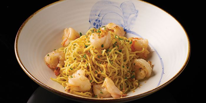 Garlic Noodle from Lokkee in Dhoby Ghaut, Singapore