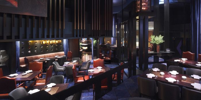 Dining Room, Grand Hyatt Steakhouse, Wan Chai, Hong Kong