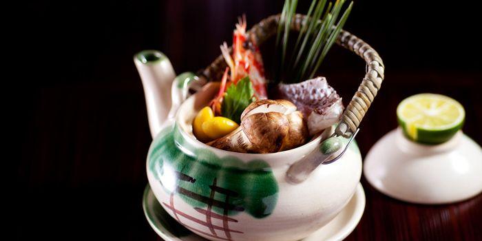 Matsutake Seafood Tea Pot Soup, Kaetsu, Wan Chai, Hong Kong