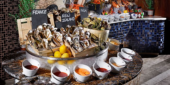 Live Seafood Station in Kwee Zeen in Sentosa, Singapore