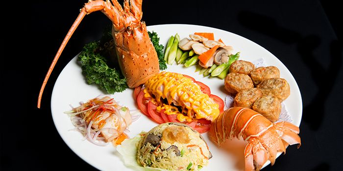 Lobster Platter from Home Of Seafood in East Coast, Singapore