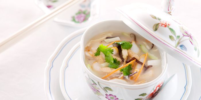 Fish and Vegetable Soup, One Harbour Road, Wan Chai, Hong Kong