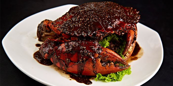 Pepper Crab from Home Of Seafood in East Coast, Singapore