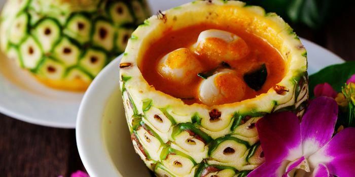 Pineapple Soup from Apsara at Banyan Tree Bangkok in Sathorn Road