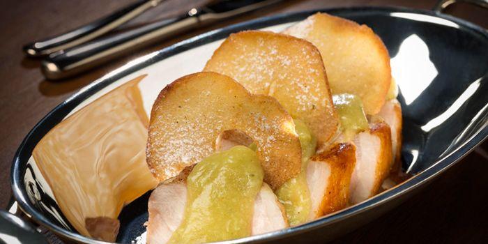 Iberico Pork Loin with Fuji Apple, The Teppanroom, Wan Chai, Hong Kong