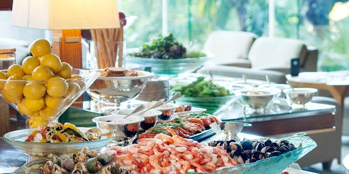 Lunch Buffet, Tiffin, Wan Chai, Hong Kong