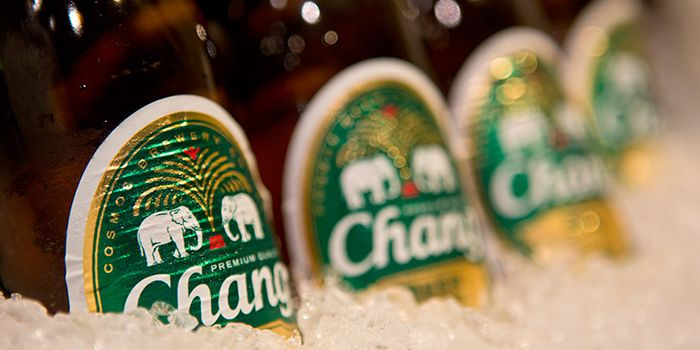Chang Beer from Gin Khao Bistro (Sentosa Cove) in Sentosa, Singapore