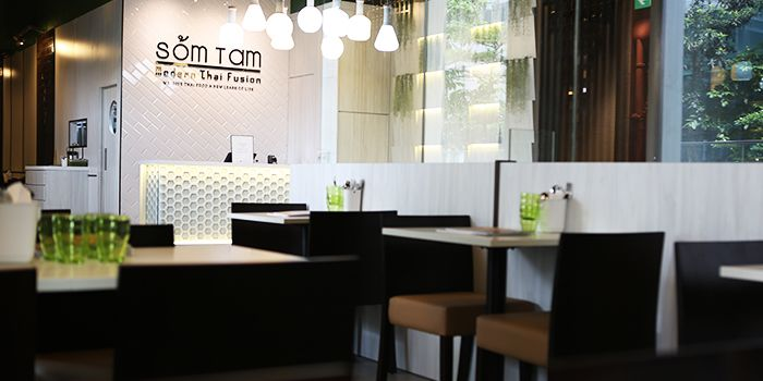 Dining Area of Som Tam in Orchard, Singapore