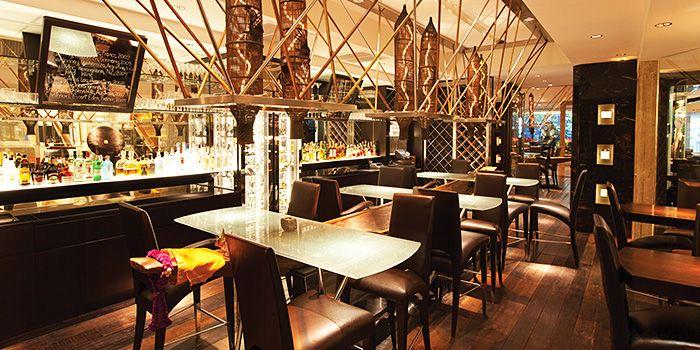 Dining Area from Bar@494 Restaurant at Grand Hyatt Erawan, Bangkok