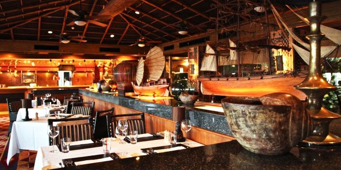 Dining Area from Trader Vic