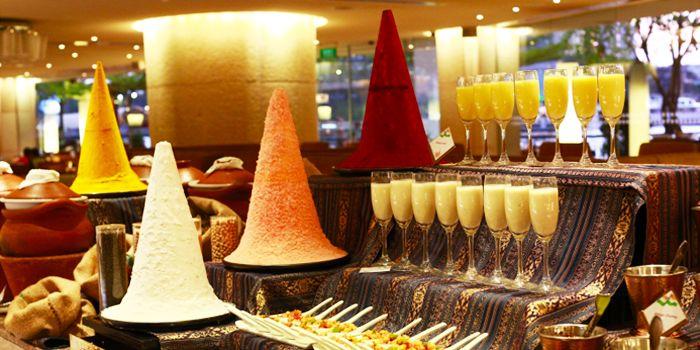 Drinks from Next 2 Cafe at Shangri-La Hotel, Bangkok