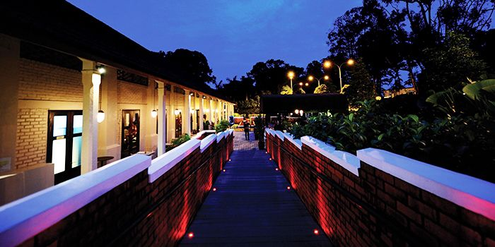 Exterior of Jim Thompson in Dempsey, Singapore
