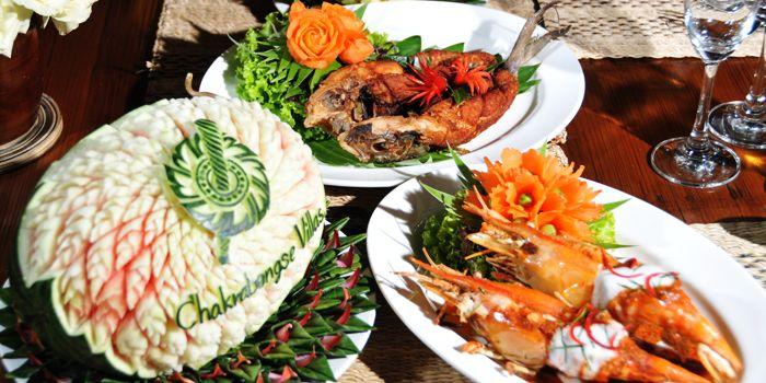 Food Spread from Chakrabongse Villas Dining, Tatian