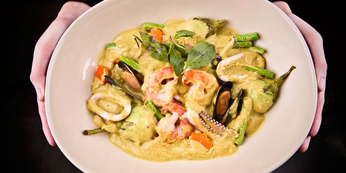 Green Curry from Gin Khao Bistro (Sentosa Cove) in Sentosa, Singapore