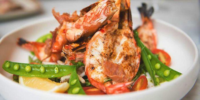 Grilled Tiger Prawns Salad fromPeppina in Sukhumvit Soi 33, Bangkok