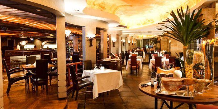 Interior of Spasso Restaurant & Bar at Grand Hyatt Erawan, Bangkok
