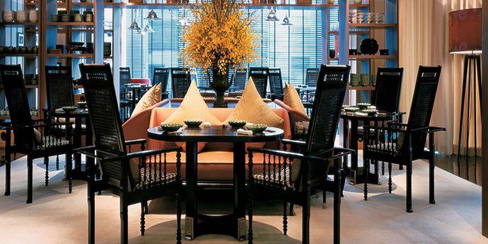 Interior of Erawan Tea Room Restaurant at Grand Hyatt Erawan, Bangkok