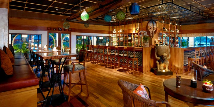 Interior of Trader Vic