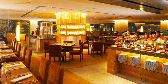 Interior of Next 2 Cafe at Shangri-La Hotel, Bangkok