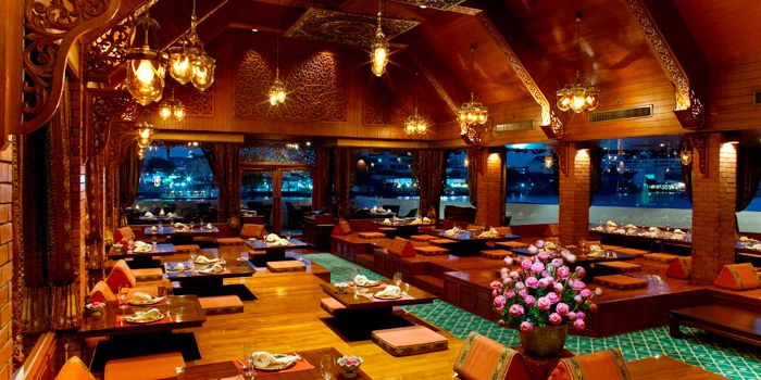 Interior of Thara Thong at Royal Orchid Sheraton Hotel & Towers, Bangkok