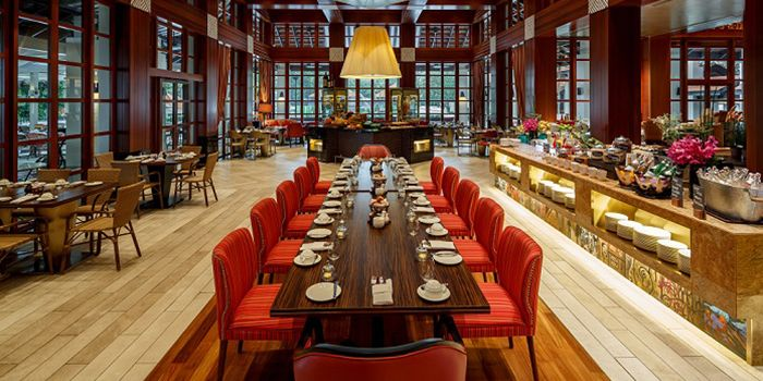 Interior of Kwee Zeen in Sentosa, Singapore