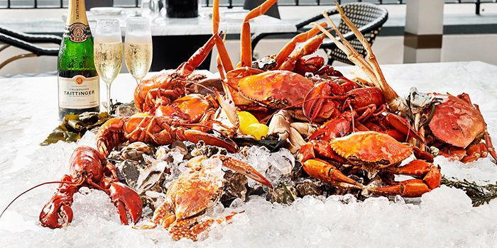 Seafood Platter from Kwee Zeen in Sentosa, Singapore