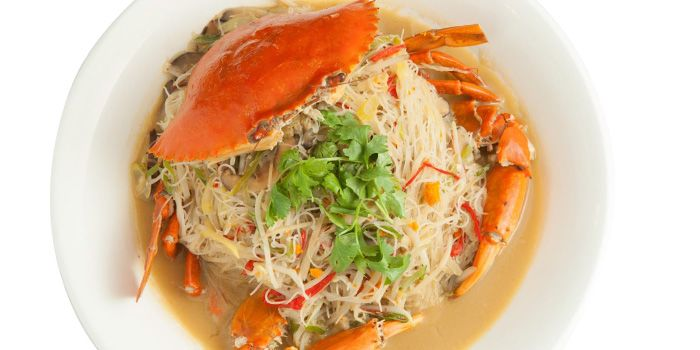 Crab Beehoon from Lai Huat Seafood Fish Head Steamboat (East Coast) in East Coast, Singapore