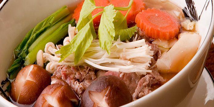 Noodle from You & Mee Restaurant at Grand Hyatt Erawan, Bangkok