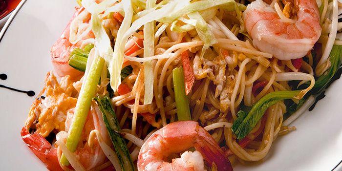 Phad Thai from You & Mee Restaurant at Grand Hyatt Erawan, Bangkok