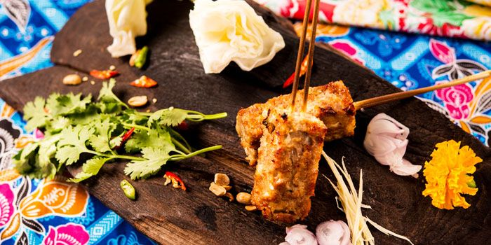 Pork Skewer from Err Urban Rustic Thai, Tatian
