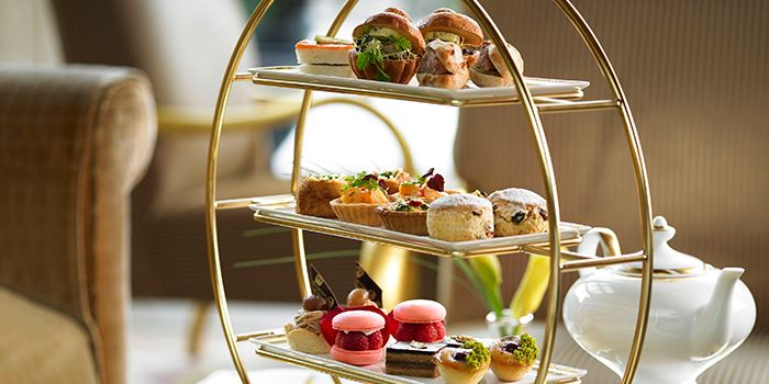 Afternoon Tea Set 1 from Chihuly Lounge in The Ritz-Carlton, Millenia Singapore in City Hall, Singapore