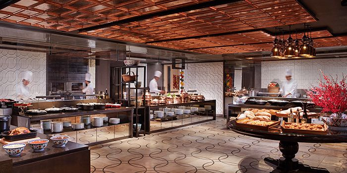 Conservatory Kitchen of Colony in The Ritz-Carlton, Millenia Singapore in City Hall, Singapore