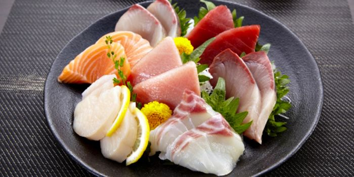 Sashimi from Yuutaro at Central Embassy, Bangkok
