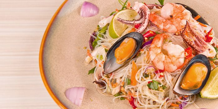 Seafood Glass Noodles from Gin Khao Bistro (Sentosa Cove) in Sentosa, Singapore