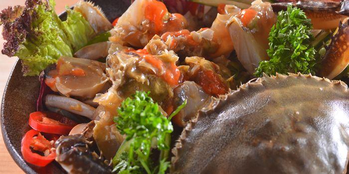 Soy Sauce Marinated Raw Crab, Hanjan, Central, Hong Kong
