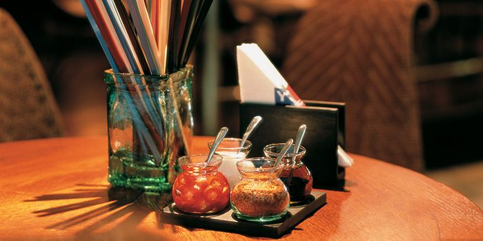 Table Setting from You & Mee Restaurant at Grand Hyatt Erawan, Bangkok