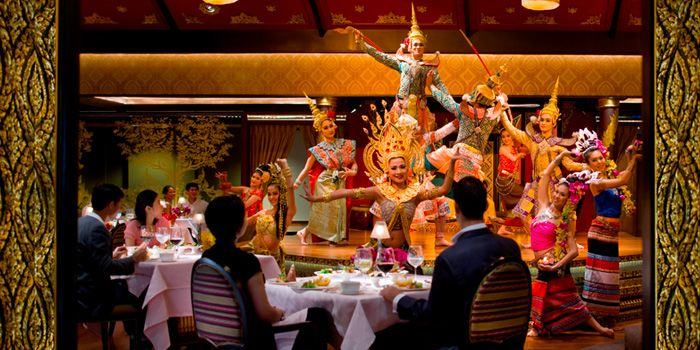 Thai Show from Sala Rim Naam at Mandarin Oriental, Bangkok