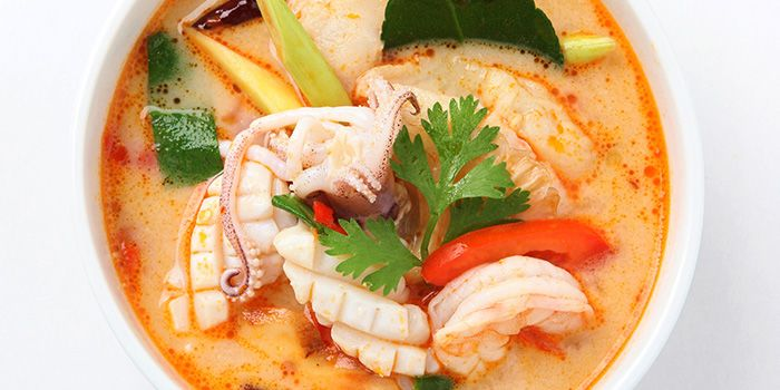 Tom Yum Soup from Gin Khao Bistro (Sentosa Cove) in Sentosa, Singapore