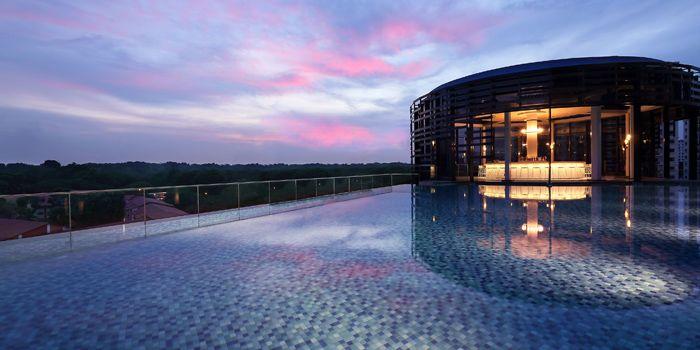Exterior of Aqua Luna in Park Hotel Alexandra at Queenstown, Singapore