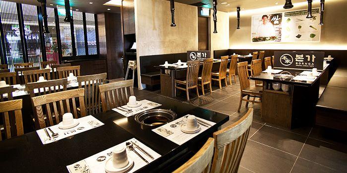 Dining Area of Bornga (VivoCity) in Harbourfront, Singapore