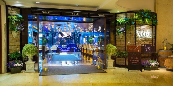 Exterior of Volti Ristorante & Bar at Shangri-La Hotel, Bangkok