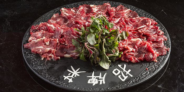 Hand Sliced Premium Beef, The Drunk Pot, Tsim Sha Tsui, Hong Kong