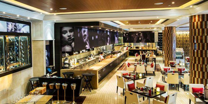 Interior from Volti Ristorante & Bar at Shangri-La Hotel, Bangkok