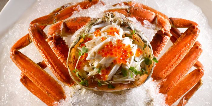 Crab from Kai Garden in City Hall, Singapore